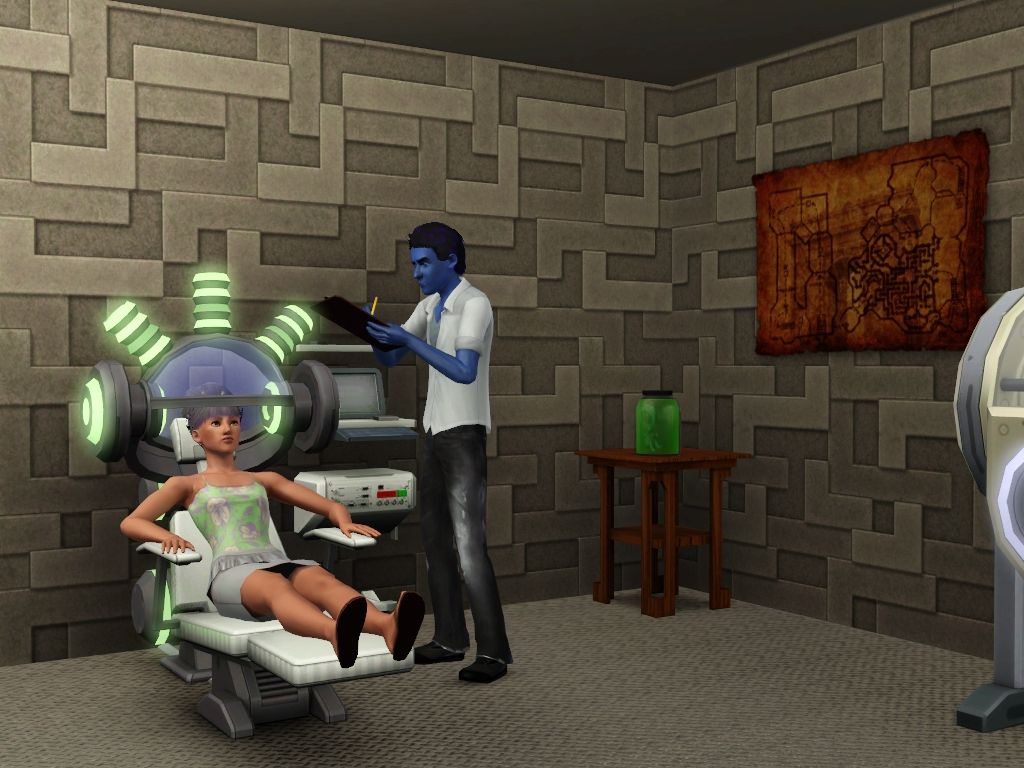 sims 3 brain enhancing machine