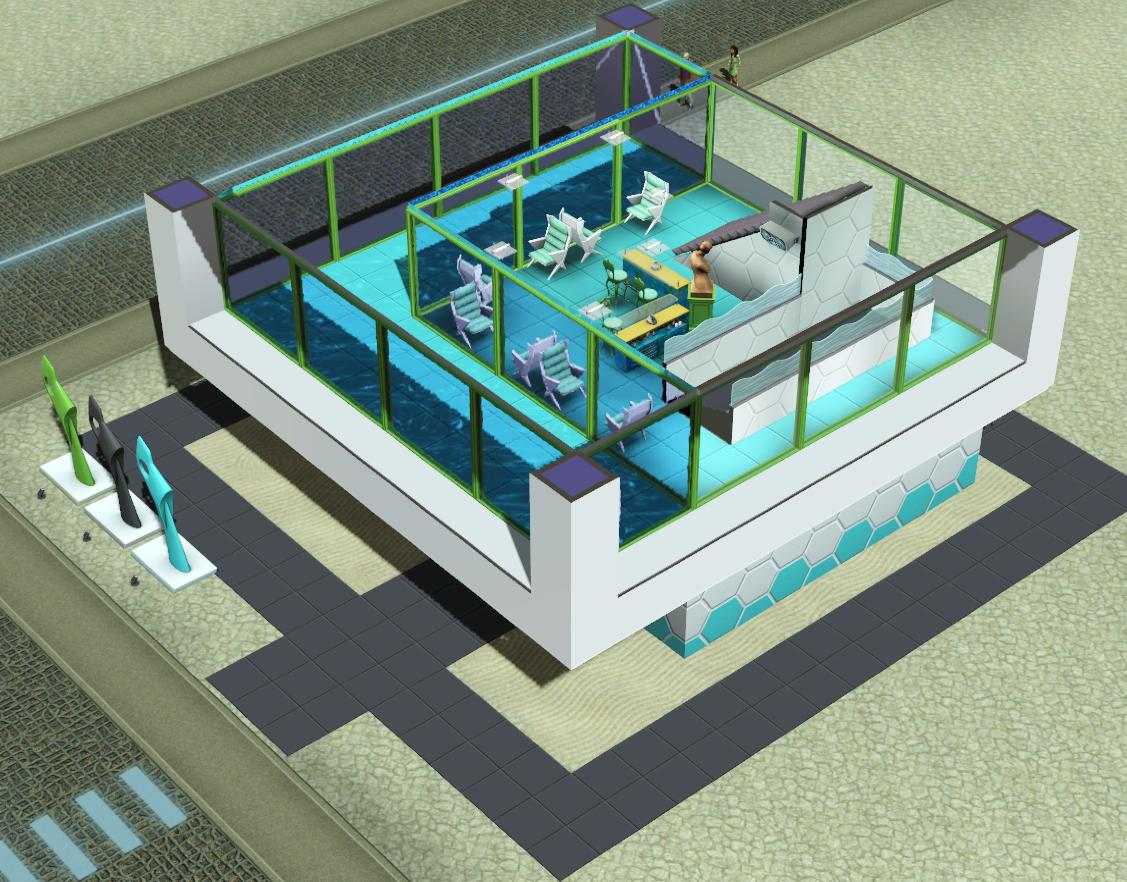 Blog community the sims 3 for Pool design sims 3