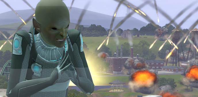 Пришельцы симс 3