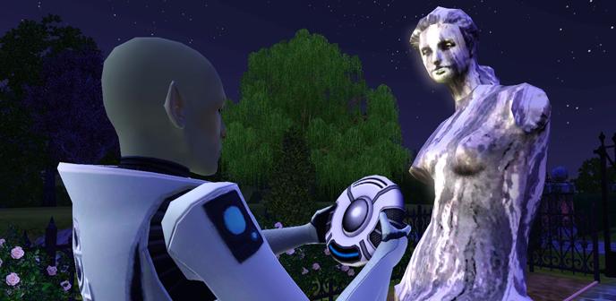 Výsledek obrázku pro the sims 3 mimozemšťan