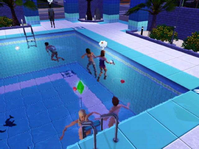 Mit Cycl0n3 Sw0rd Nackt In Einem Pool Gebadet