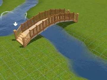 comment faire un pont arrondi par nabakza vid os et autres communaut les sims 3. Black Bedroom Furniture Sets. Home Design Ideas