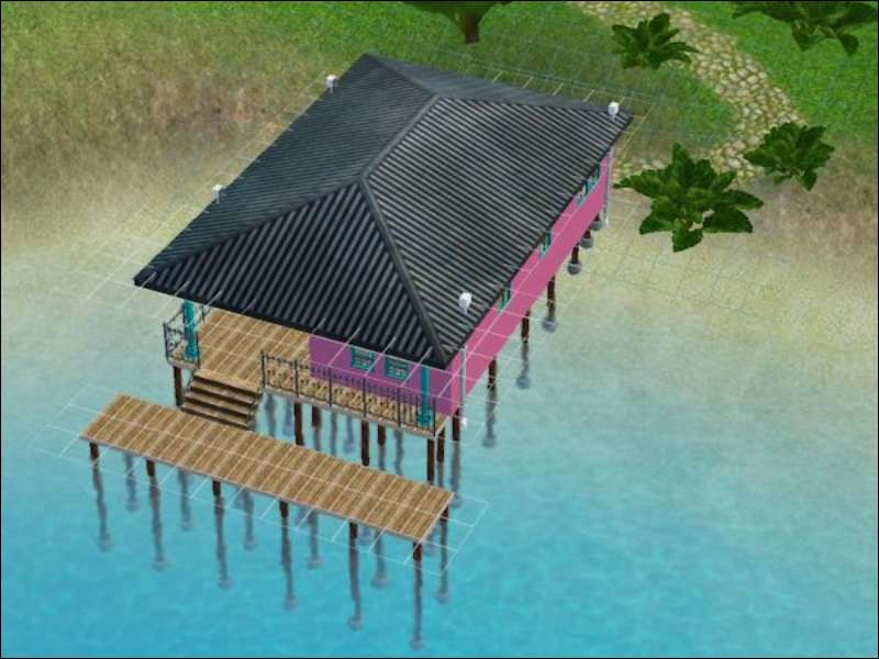 sims 4 how to build a raised deck