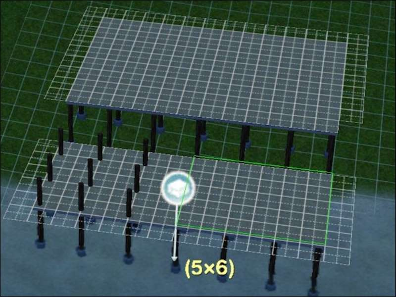 how to build a deck sims 3