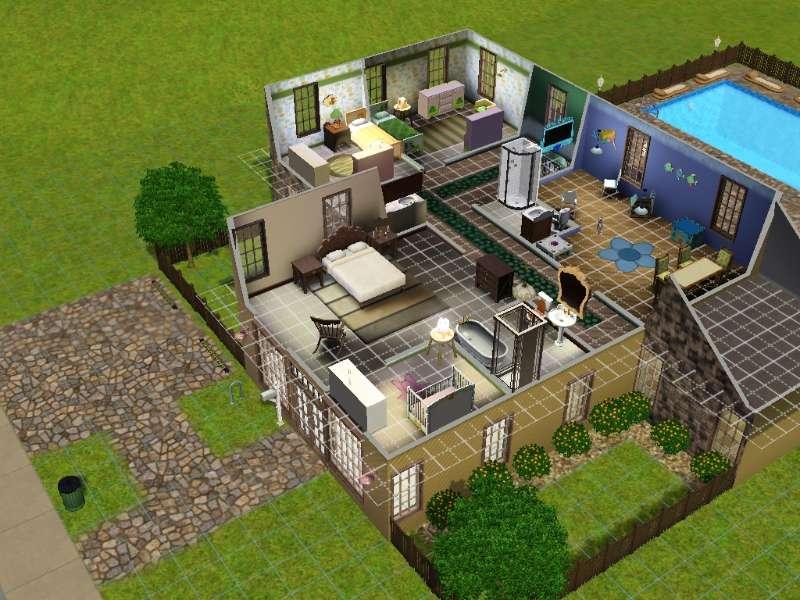 Master Bedroom Upstairs Nursery Downstairs ejax's sims 3 builds: 2013-05-19