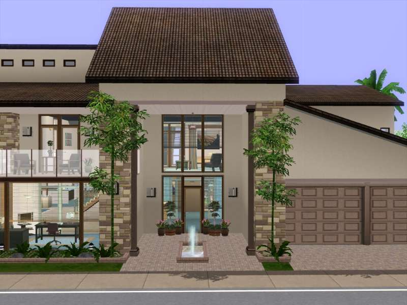 new  base game no store no cc contempo cream by gokukaren Loft Stairs Loft Stairs