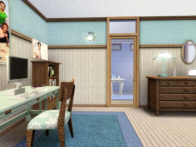 new  base game no store no cc contempo cream by gokukaren Loft Stairs art room lafayette ca