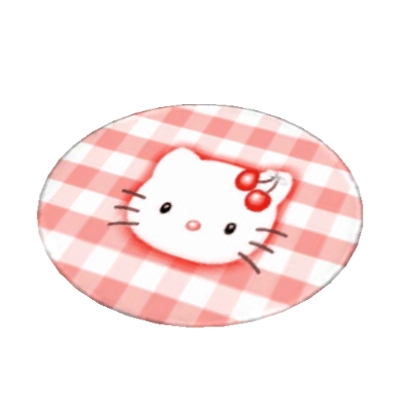 Tapis Rond Hello Kitty By Angelicatiti The Exchange Community The Sims 3