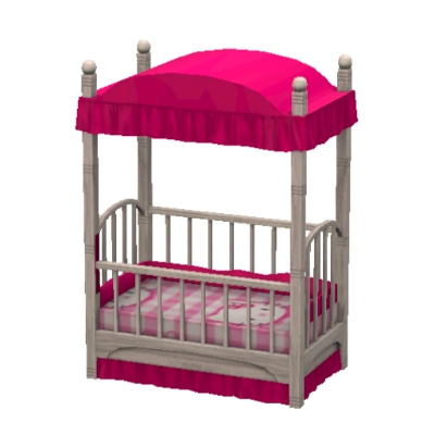 hello kitty toddler bed by geraldinmyst the exchange. Black Bedroom Furniture Sets. Home Design Ideas