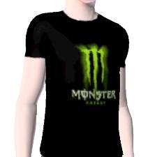 monster energy drink t shirt by tnt tj the exchange. Black Bedroom Furniture Sets. Home Design Ideas
