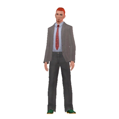 Postal Dude By Bartus8895 The Exchange Community The Sims 3