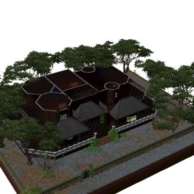 maison hantee 360