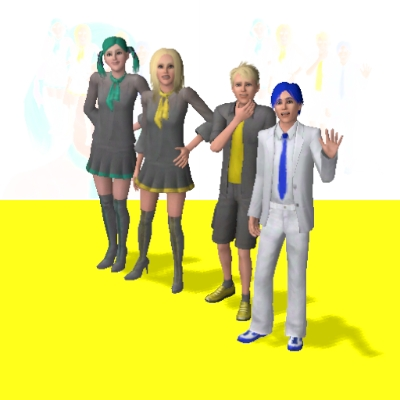 Vocaloid character by celicius the exchange community the sims 3