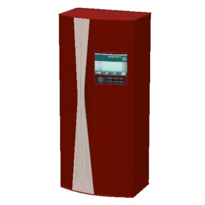 frigo americain rouge par frigo americain rouge l 39 echange communaut les sims 3. Black Bedroom Furniture Sets. Home Design Ideas
