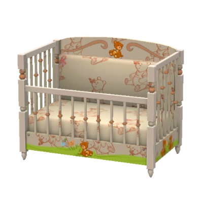 winnie pooh kinderbett von emjla der exchange community die sims 3. Black Bedroom Furniture Sets. Home Design Ideas