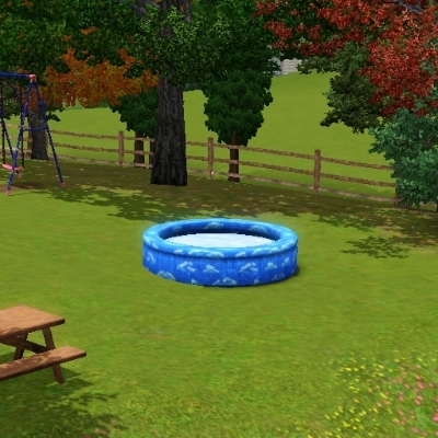 Kiddie pool by ricslady99 the exchange community the for Pool design sims 3
