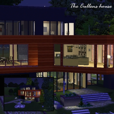 The Cullens House By Flashgirl309 The Exchange Community The Sims 3