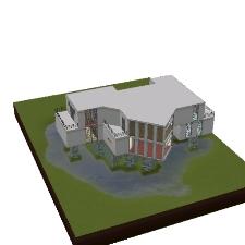 La gran casa moderna de danibrucelee el intercambio for Casa moderna los sims 3