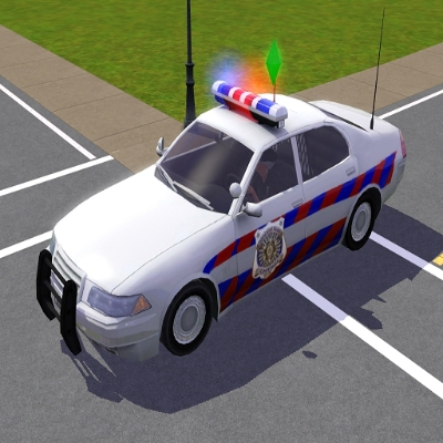 voiture de police francaise par voiture de police francaise l 39 echange communaut les sims 3. Black Bedroom Furniture Sets. Home Design Ideas