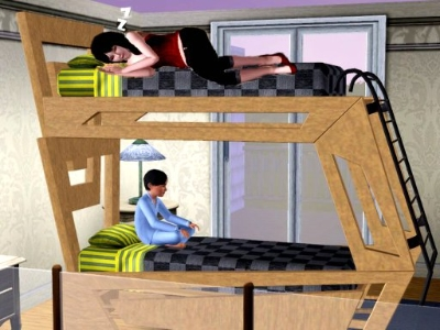 sims 3 loft bed download 1
