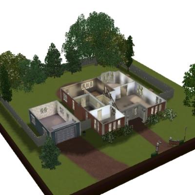 Bree Van De Kamp S House By Msrknews The Exchange Community The Sims 3
