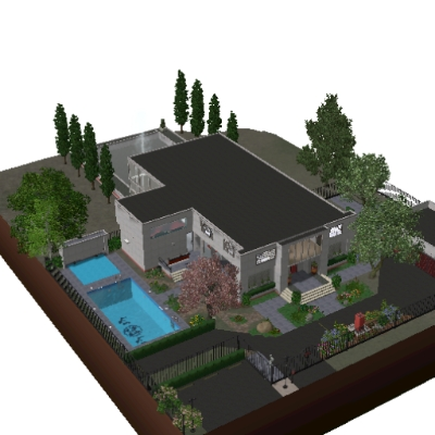 Edna Mode House By Ck213 The Exchange Community The Sims 3