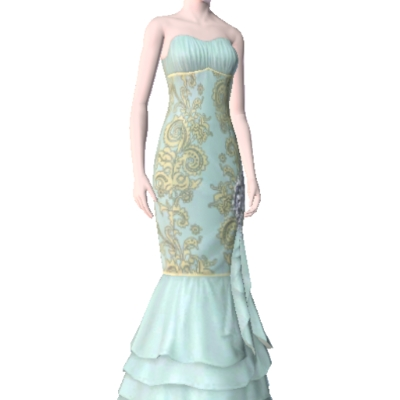 Victorian Ball Gown By Connormichelle The Exchange Community The Sims 3