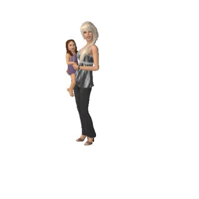 rich single mom