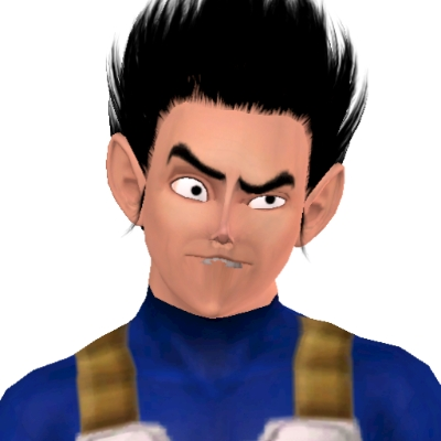 Vegeta From Dragon Ball Z  by vfghjgghghghg - The Exchange