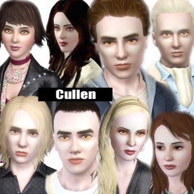 The Cullens - Twilight Vampire Family by JennineMDW - The