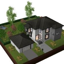 Maison moderne par maison moderne l 39 echange communaut for Construire une maison sims 3 xbox 360