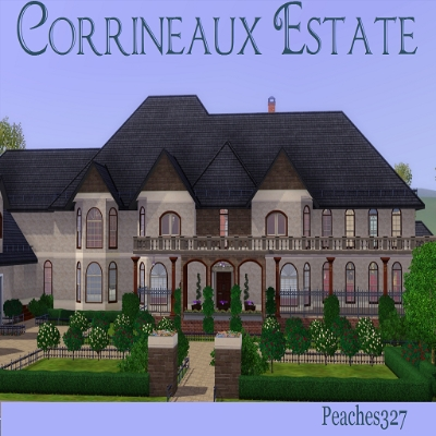 Corrineaux Estate By Peaches327 The Exchange Community The Sims 3