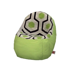 Teen Mod Bedroom Set Bean Bag Chair By Dianat The