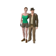 What would be, if Lara Croft had married Indiana Jones. DL and find