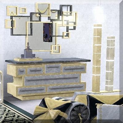 bling bedroom set dresser by atlaxa the exchange