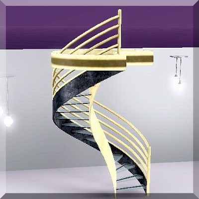 how to get spiral stairs in sims 3