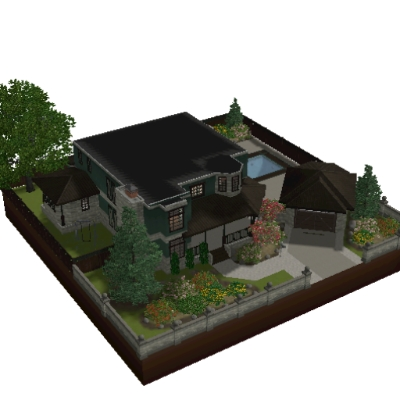 Les sims 3 maison moderne awesome with les sims 3 maison for Construire une maison sims 3 xbox 360