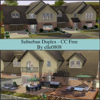 suburban duplex - cc freeelle0808 - the exchange - community