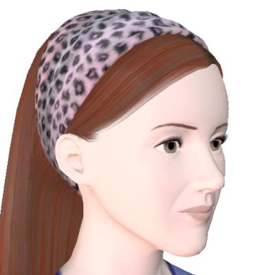 Leopardig hårstil af jompanbelf - The Exchange - Fællesskabet - The Sims 3