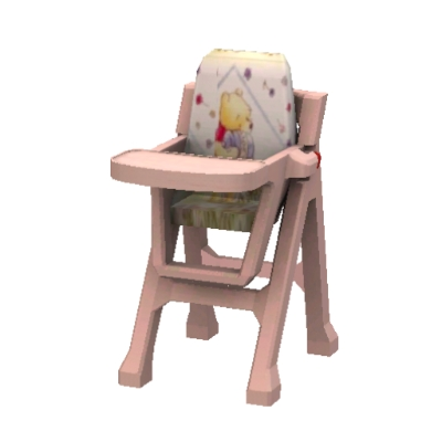 Winnie the pooh high chair by lily1627 the exchange community