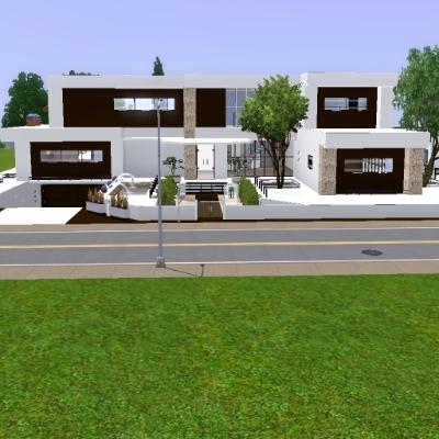 modernes Haus von ur1705 - Der Exchange - Community - Die Sims 3