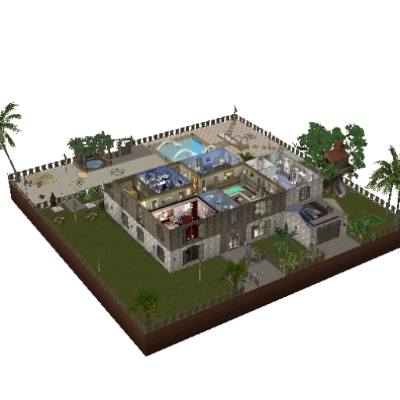 cea5cd9ddd2 Beach Mansion av Jmiller1234 - The Exchange - Community - The Sims 3