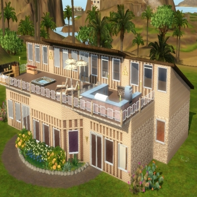6 & Rumah Mewah by Dini60 - The Exchange - Community - The Sims 3