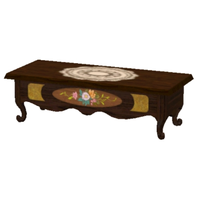 Old Fashioned Coffee Table No Cc By Angella Rosetta The Exchange Community The Sims 3