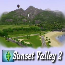 sunset valley sims 3 lot sizes in forex