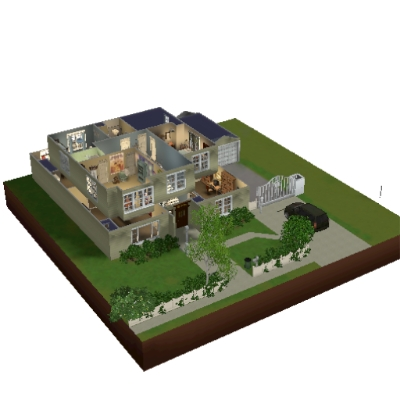 Modern Family The Dunphy House By Jackverhaeg The Exchange Community The Sims 3