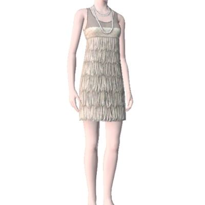 Sassy Flapper Dress by DivaOfDarkness - The Exchange ...