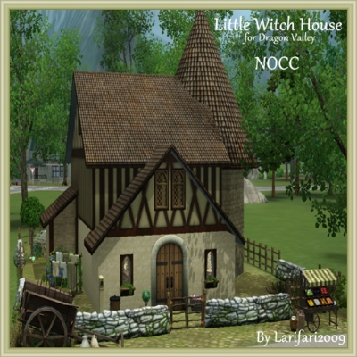 Dragon valley creation sharing thread page 16 the sims for Witches cottage house plans