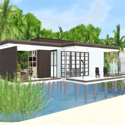 modern beach house by stevesuzz the exchange community the sims 3 rh thesims3 com