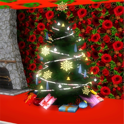 Sims 3 Christmas Tree.Christmas Tree By Murpy The Exchange Community The Sims 3